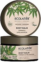 Düfte, Parfümerie und Kosmetik Straffender und entspannender Körperbalsam mit Bio Hanföl, Arganöl und Patchouliöl - Ecolatier Organic Cannabis Body Balm