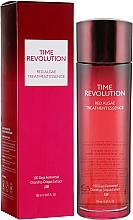 Düfte, Parfümerie und Kosmetik Feuchtigkeitsspendende Anti-Aging Gesichtsessenz mit Rotalgen-Extrakt - Missha Time Revolution Red Algae Treatment Essence