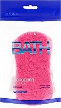 Düfte, Parfümerie und Kosmetik Badeschwamm rosa - Suavipiel Microfiber Bath Sponge Extra Soft