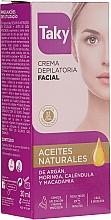 Düfte, Parfümerie und Kosmetik Enthaarungscreme für das Gesicht - Taky Expert Face Hair Removal Cream
