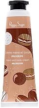 Düfte, Parfümerie und Kosmetik Hand- und Körpercreme Makrone - Peggy Sage Hand And Body Cream