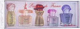 Düfte, Parfümerie und Kosmetik Charrier Parfums La Collection - Duftset (Eau de Parfum 12ml + Eau de Parfum 11.5ml + Eau de Parfum 10.7ml + Eau de Parfum 9.8ml + Eau de Parfum 10.1ml)