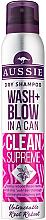 Düfte, Parfümerie und Kosmetik Trockenes Shampoo - Aussie Dry Shampoo Wash + Blow in a Can Clean Supreme