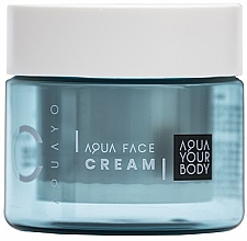 Düfte, Parfümerie und Kosmetik Feuchtigkeitsspendende Tagescreme mit Hyaluronsäure - AQUAYO Aqua Face Cream