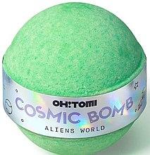 Düfte, Parfümerie und Kosmetik Badebombe Agranöl & Sojaöl - Oh!Tomi Cosmic Bomb Aliens World