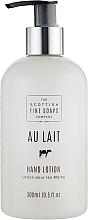 Düfte, Parfümerie und Kosmetik Handbalsam für Männer - Scottish Fine Soaps Au Lait Hand Lotion