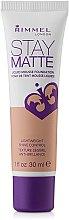 Düfte, Parfümerie und Kosmetik Mattierende Foundation - Rimmel Stay Matte Liquid Mousse Foundation