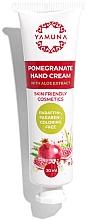 Düfte, Parfümerie und Kosmetik Handcreme mit Aloe- und Granatapfelextrakt - Yamuna Pomegranate Hand Cream With Aloe Vera