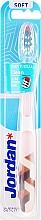 Düfte, Parfümerie und Kosmetik Zahnbürste weich Individual Clean weiß-beige - Jordan Individual Clean Soft