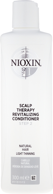 Revitalisierender Conditioner für natürliches Haar mit leichter Ausdünnung - Nioxin Thinning Hair System 1 Scalp Revitalizing Conditioner Step 2
