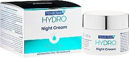 Düfte, Parfümerie und Kosmetik Feuchtigkeitsspendende Nachtcreme-Maske mit 10% Hyaluronsäure und Hydromanil - Novaclear Hydro Night Cream