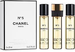 Düfte, Parfümerie und Kosmetik Chanel N5 - Eau de Toilette (3 x Nachfüllung mit Zerstäuber)