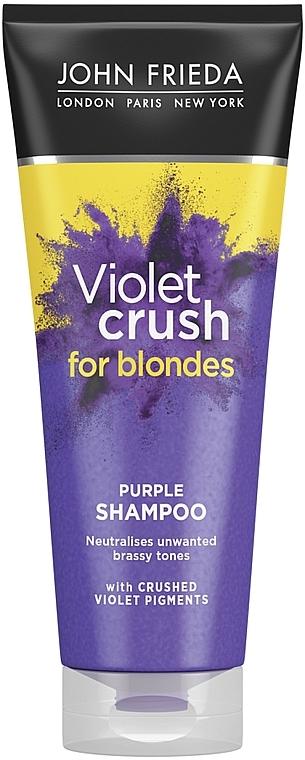 Tönungsshampoo für blondiertes Haar - John Frieda Sheer Blonde Color Renew Shampoo