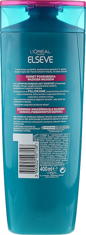 Haarpracht-Aufbauendes Shampoo - L'Oreal Paris Elseve — Bild N6