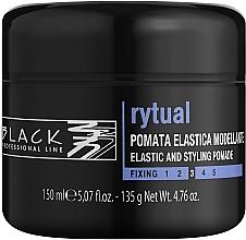 Düfte, Parfümerie und Kosmetik Modellierende Haarpomade - Black Professional Line Rytual