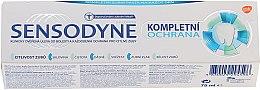 Düfte, Parfümerie und Kosmetik Zahncreme mit Fluorid für täglichen Gebrauch - Sensopdyne Toothpaste