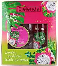 Düfte, Parfümerie und Kosmetik Körperpflegeset - Bielenda Exotic Paradise Pitaja (Körperpeeling 350g + Körperbutter 400ml)