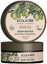 Düfte, Parfümerie und Kosmetik Körperbutter mit natürlichem Olivenöl und Vitamin E - Ecolatier Organic Oliva Body Butter