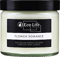 Düfte, Parfümerie und Kosmetik Soja-Duftkerze Blumenromantik - Eco Life Candles