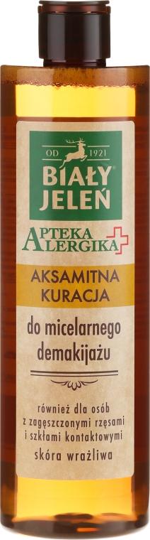 Mizellenlotion zum Abschminken für empfindliche Haut - Bialy Jelen Apteka Alergika