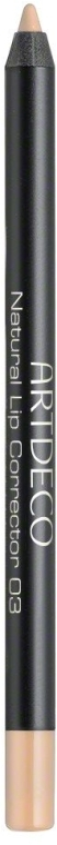 Lippenkonturenstift - Artdeco Natural Lip Corrector — Bild N1