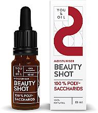 Düfte, Parfümerie und Kosmetik Feuchtigkeitsspendendes Gesichtsserum mit Polysacchariden - You & Oil Beauty Shot Polysaccharids / Moisturiser Face Serum