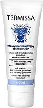 Düfte, Parfümerie und Kosmetik Feuchtigkeitsspendende Fußcreme - Termissa Foot Cream
