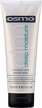 Düfte, Parfümerie und Kosmetik Tief regenerierende feuchtigkeitsspendende Maske für trockenes und stapaziertes Haar - Osmo Deep Moisturising Intensive Deep Repair Mask