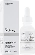 Düfte, Parfümerie und Kosmetik Gesichtsserum mit 10% Niacinamid und 1% Zink - The Ordinary Niacinamide 10% + Zinc PCA 1%