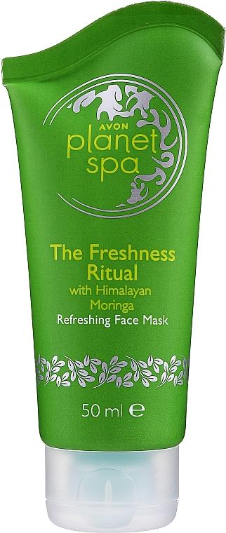 Erfrischende und kühlende Gesichtsmaske mit Pfefferminzöl - Avon Planet Spa Refreshing Face Mask