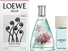 Düfte, Parfümerie und Kosmetik Loewe Agua de Loewe Mar de Coral - Duftset (Eau de Toilette 150ml + Eau de Toilette 30ml)