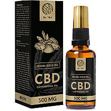 Düfte, Parfümerie und Kosmetik Natürliches Jojobaöl CBD 500mg - Dr. T&J Bio Oil