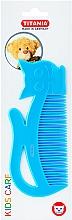 Düfte, Parfümerie und Kosmetik Kinder-Haarkamm Kids blau - Titania
