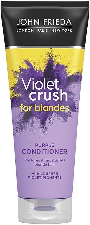 Tönungsconditioner für blondes Haar - John Frieda Sheer Blonde Colour Renew Conditioner