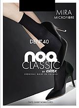 Düfte, Parfümerie und Kosmetik Kurze Mikrofaser-Damensocken Mira 40 Den Black - Knittex