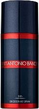 Düfte, Parfümerie und Kosmetik Spirit Antonio Banderas - Deospray
