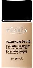 Düfte, Parfümerie und Kosmetik Langanahaltende Foundation SPF 30 - Filorga Flash Nude SPF 30