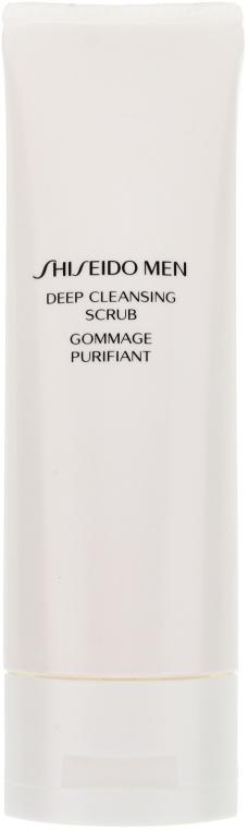 Intensiv reinigendes Gesichtspeeling - Shiseido Men Deep Cleansing Scrub  — Bild N2