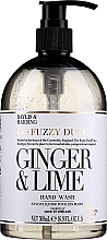 Düfte, Parfümerie und Kosmetik Flüssige Handseife Ginger & Lime - Baylis & Harding Fuzzy Duck Hand Wash, Ginger & Lime