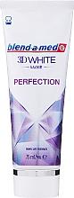 Düfte, Parfümerie und Kosmetik Zahnpasta 3D White Luxe Perfection - Blend-a-med 3D White Luxe Perfection