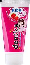 Düfte, Parfümerie und Kosmetik Kinderzahnpasta 0-6 Jahre mit Erdbeergeschmack - Tolpa Dentica For Kids