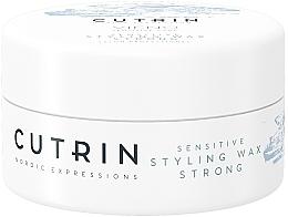 Düfte, Parfümerie und Kosmetik Unparfümiertes Haarstylingwachs Starker Halt - Cutrin Vieno Sensitive Styling Wax Strong