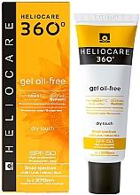 Düfte, Parfümerie und Kosmetik Ölfreies Sonnenschutzgel für Gesicht und Dekolleté SPF 50 - Cantabria Labs Heliocare 360 Gel Oil-Free Dry Touch