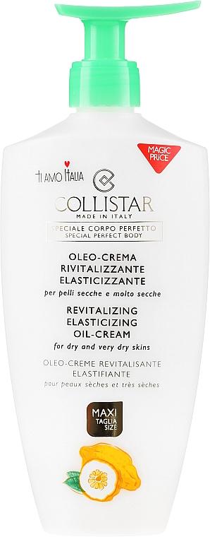 Revitalisierende Ölcreme für den Körper - Collistar Revitalizing Elasticizing Oil-Cream