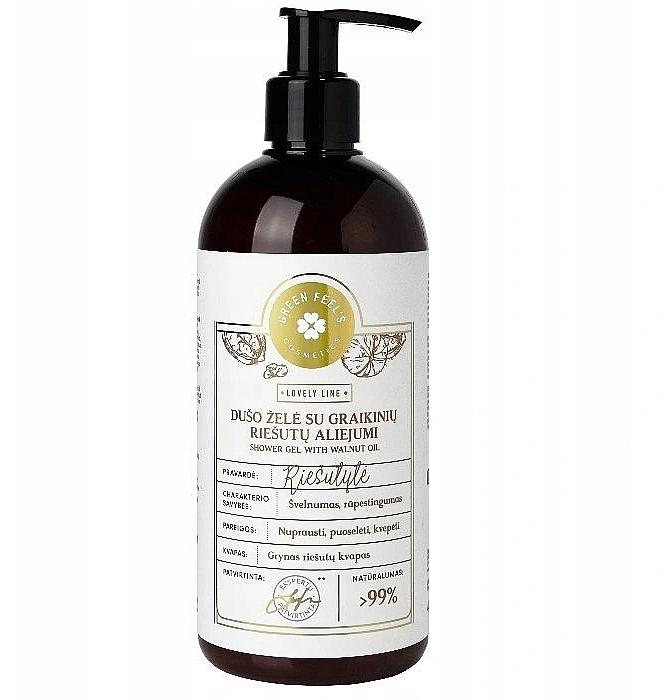 Orzechowy żel pod prysznic - Green Feel's Shower Gel With Walnut Oil