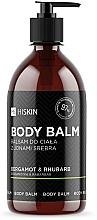 Düfte, Parfümerie und Kosmetik Körperbalsam mit Silberionen, Bergamotte und Rhabarber - HiSkin Bergamot & Rhubarb Body Balm