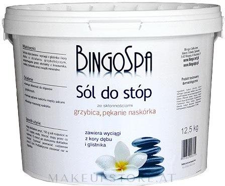 Fußbadesalz gegen Pilzinfektionen, Hautrisse und Schwitzen - BingoSpa Salt For Feet — Bild 12.5 kg