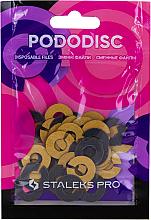Düfte, Parfümerie und Kosmetik Ersatzscheiben für Pediküre-Disk Pododisk, S, Körnung 180 - Staleks
