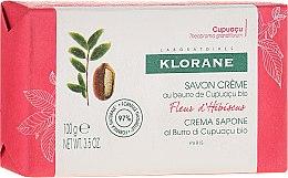 Düfte, Parfümerie und Kosmetik Cremeseife mit Bio Hibiskus - Klorane Cupuacu Hibiscus Flower Cream Soap