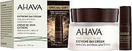 Düfte, Parfümerie und Kosmetik Gesichtspflegeset - Ahava Extreme Time to Revitalize (Gesichtscreme 50ml + Augenkonturserum 5ml)